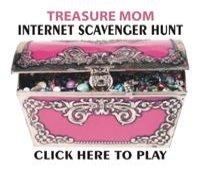 mothers day prize internet scavenger hunt