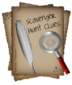 Scavenger hunt how to write fun and challenging clues