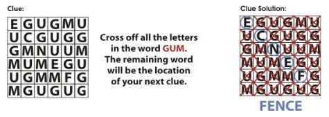 word puzzle clue