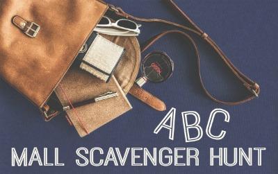 ABC Mall Scavenger Hunt