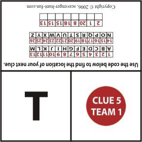clue sample