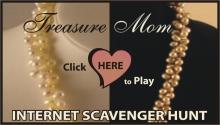 treasure mom prize internet scavenger hunt