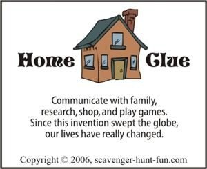 Sample Home Poem Scavenger Hunt Clue