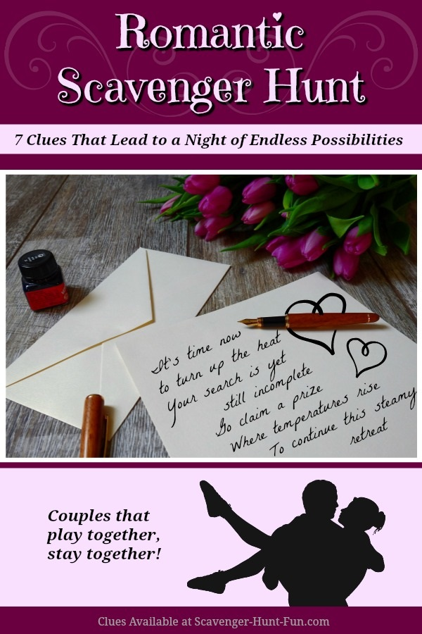 Romantic Scavenger Hunt for Lovers